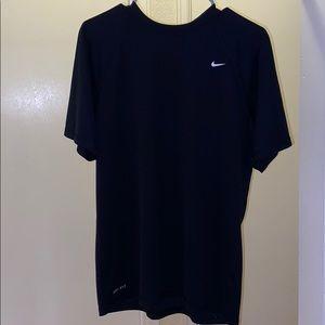 Black nike dri fit shirt